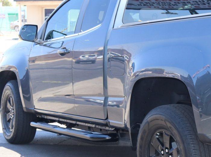 Chevy Colorado Access Cab 3 Inch Black Nerf Bars