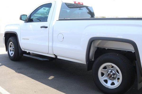 GMC Sierra Regular Cab 3 Inch Black Nerf Bars