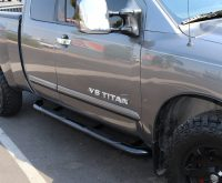 Nissan Titan 3 Inch Black Nerf Bars