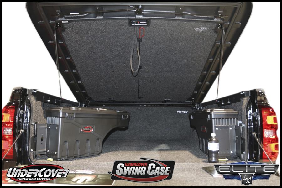 UnderCover Elite LX Tonneau Cover BedRug Truck Liner SwingCases Toolboxes