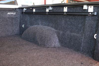 BedRug Carpet Bed Liner With Track Systems