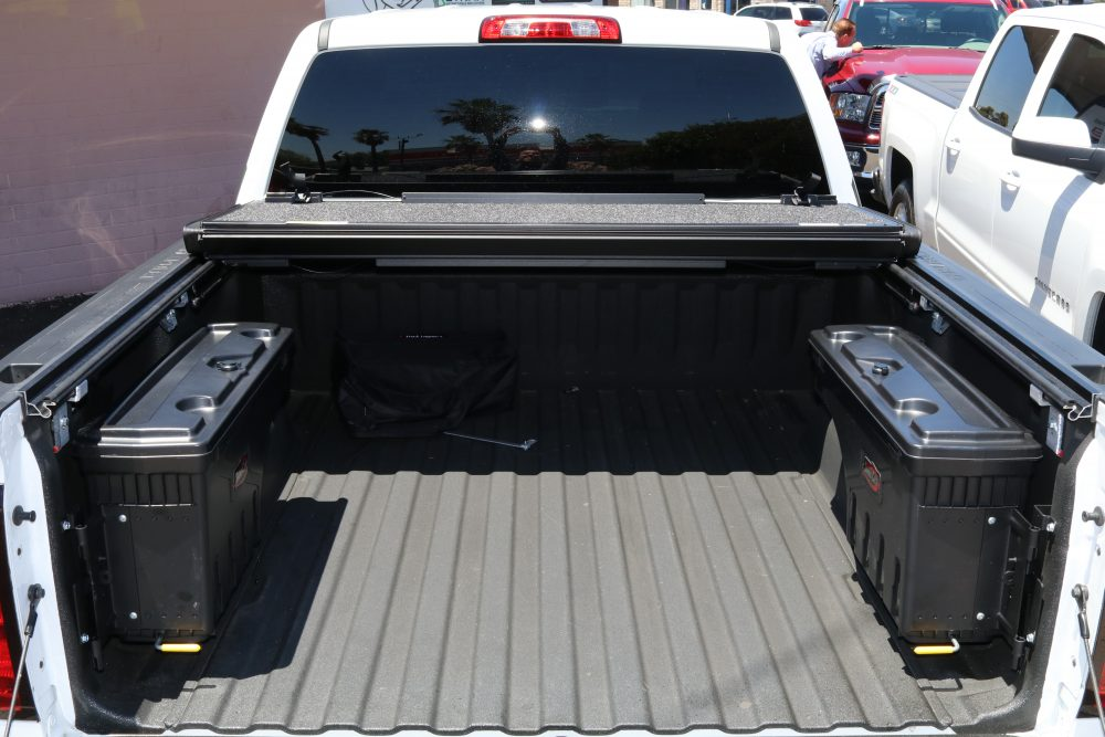 UnderCover Ultra Flex Tonneau Cover With Swingcase Toolbox