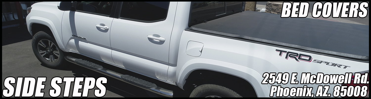 tonneau covers and running boards in phoenix arizona