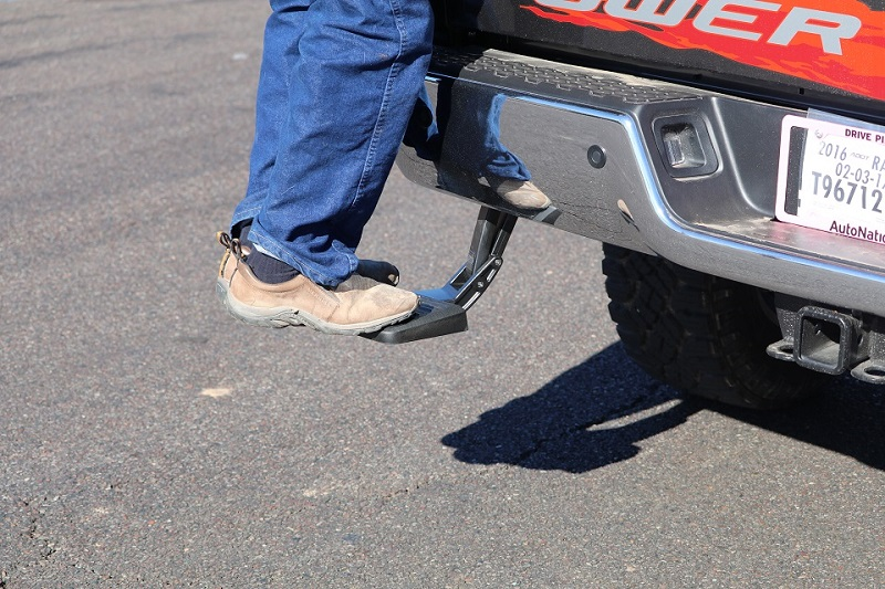amp research bed step for truck bed in phoenix arizona