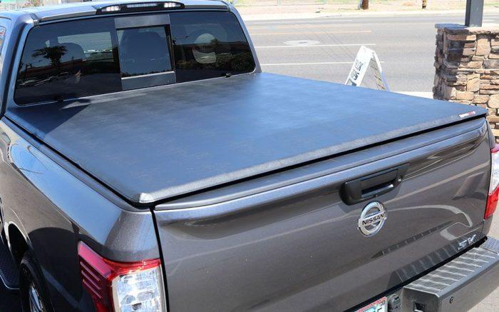 ... Nissan Titan Extang Trifecta 2.0 Truck Bed Cover
