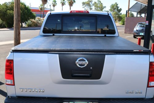 Nissan Titan Extang Trifecta 2.0 truck bed covers