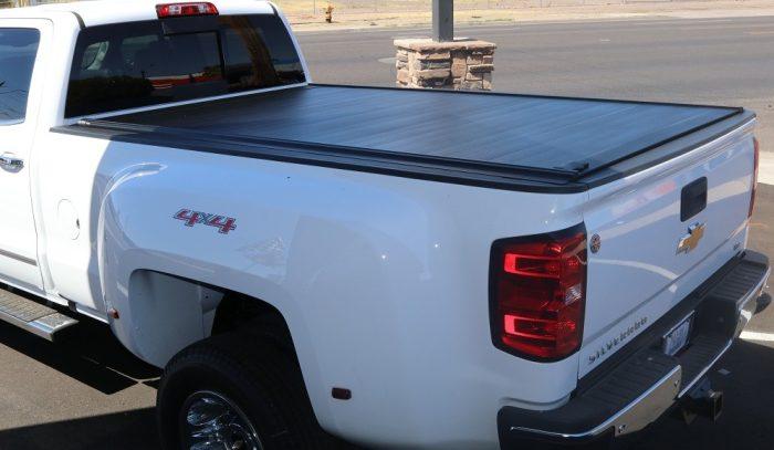 RetraxPRO MX Retractable Bed Cover Long Bed Chevy Silverado