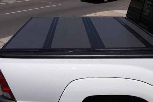 Toyota Tacoma BAKFlip MX4 hard trifold tonneau cover