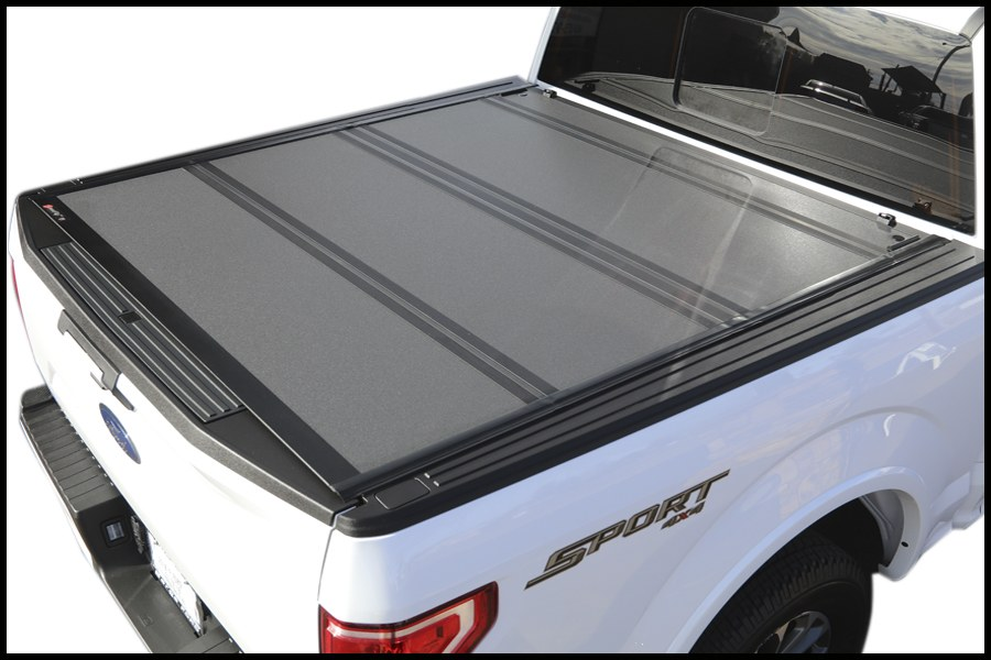 bakflip mx4 448329 2015-2018 ford f150 hard folding truck bed cover