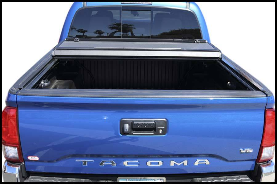 bakflip mx4 hard folding tonneau cover toyota tacoma 448426 bak industries
