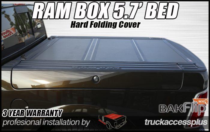 ram box hard folding cover bakflip mx4