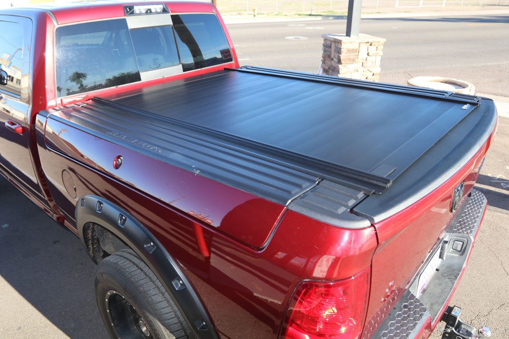ram box retraxpro mx truck bed cover