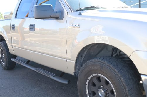 2014 Ford F150 SuperCrew Cab Step Boards