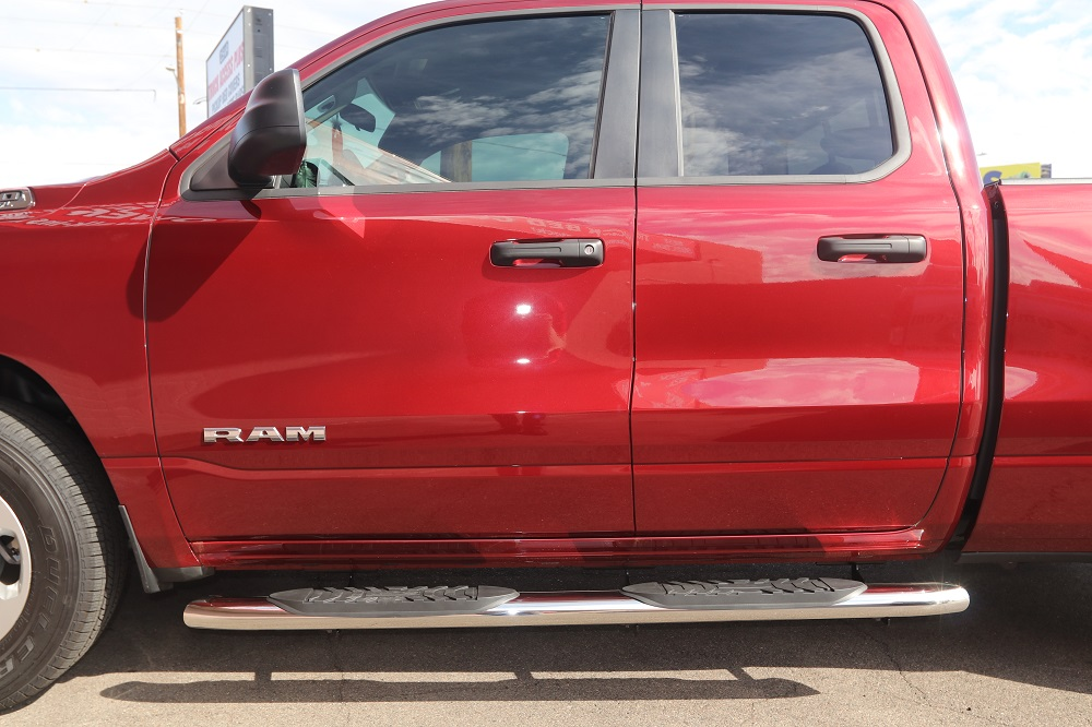 2019 Ram Quad Cab Side Step Boards 5 Inch