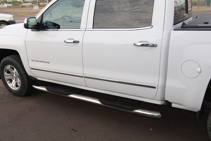 Crew Cab Step Boards 5 Inch Wide Sidebars