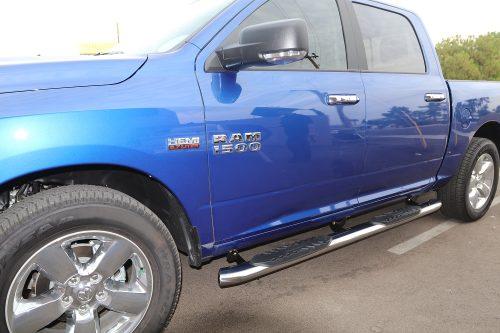 RAM 1500 CREW CAB 5 inch nerf bars