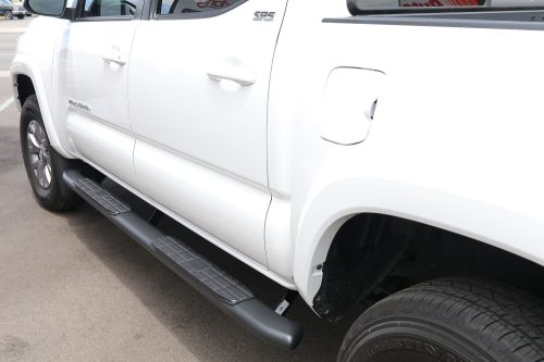 TOYOTA TACOMA 4 INCH BLACK RUNNING BOARDS