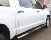 TOYOTA TUNDRA 4 INCH OVAL RUNNING BOARDS