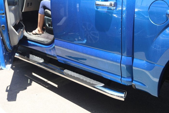 ford f150 5 inch oval nerf bars