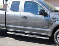 ford f150 super cab 5 inch oval nerf bars