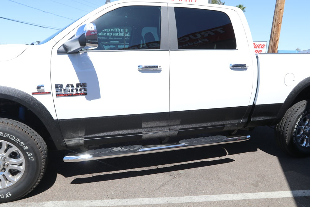 ram 2500 5 inch oval polished stainless steel sidebar