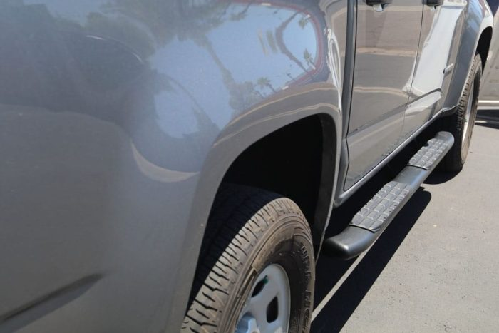 steelcraft 40-04500 black colorado nerf bars