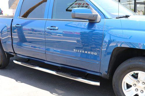Chevy Silverado Crew Cab 5 Inch Oval nerf Bars