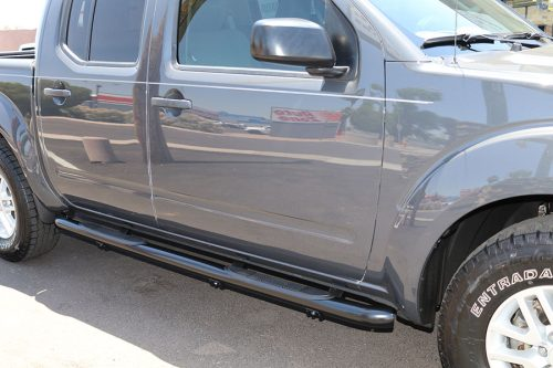 Nissan Frontier 3 Inch Black Nerf Bars