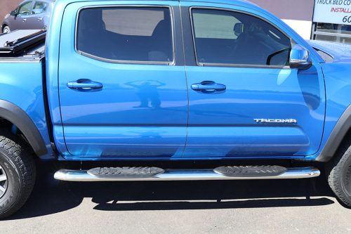 Toyota Tacoma 5 Inch Chrome Oval Nerf Bars