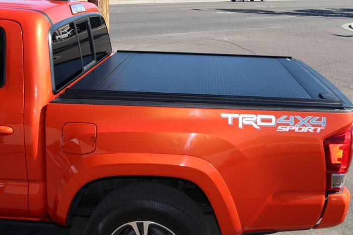 Toyota Tacoma RetraxONE MX Retractable Tonneau Cover
