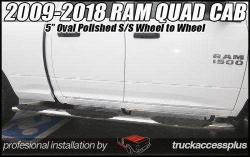 ram quad cab wheel to wheel nerf bars
