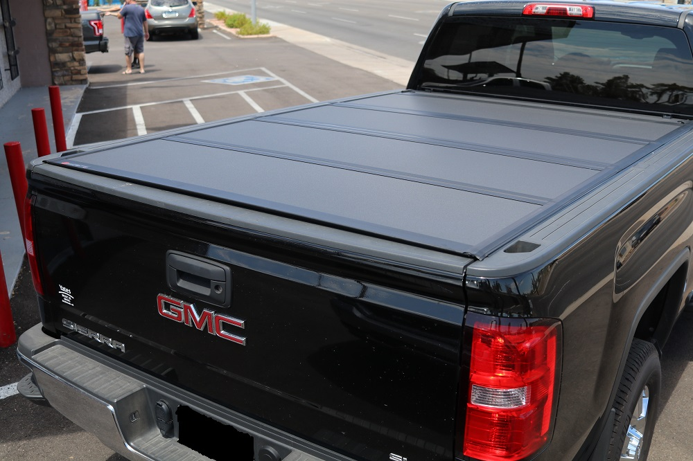 2014 2018 Chevy Silverado Gmc Sierra 8 Bed Hard Folding Cover Bakflip Mx4 448122 Truck Access Plus