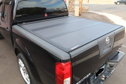 Nissan Frontier BAKFlip MX4 Hard Folding Truck Bed Covers