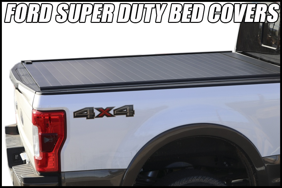 ford super duty truck bed covers