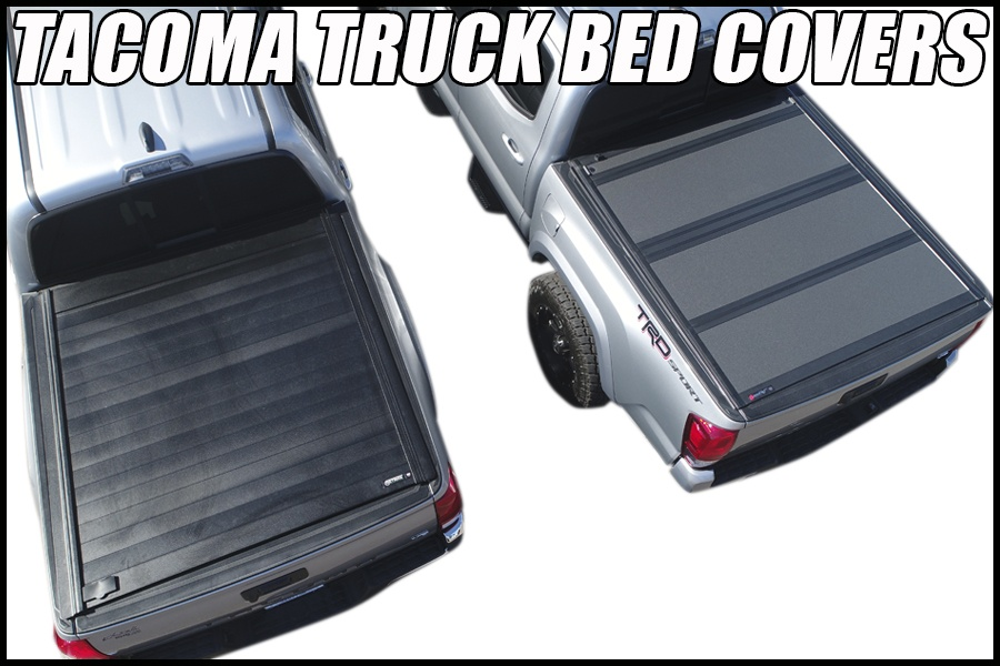 toyota tacoma truck bed covers