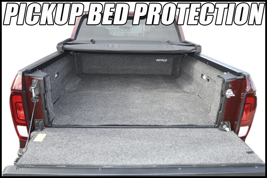 bed liners and bed mats for trucks