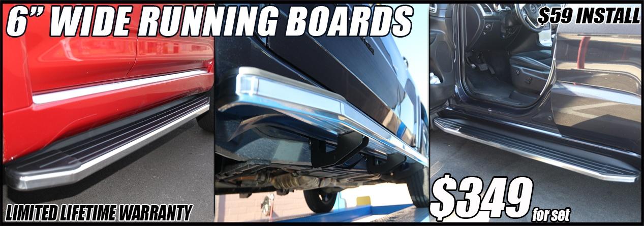 stx100 running boards in phoenix arizona