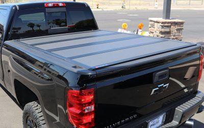 Chevy Silverado BAKFlip MX4 Hard Folding Tonneau Cover