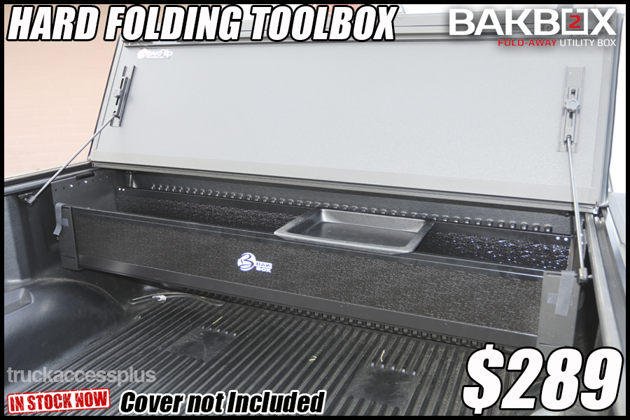 bak box 2 hard folding toolbox cover