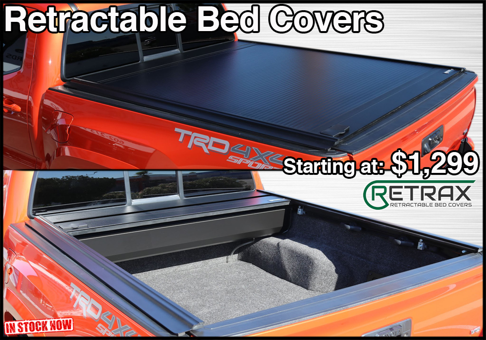 retraxone mx retractable tonneau covers