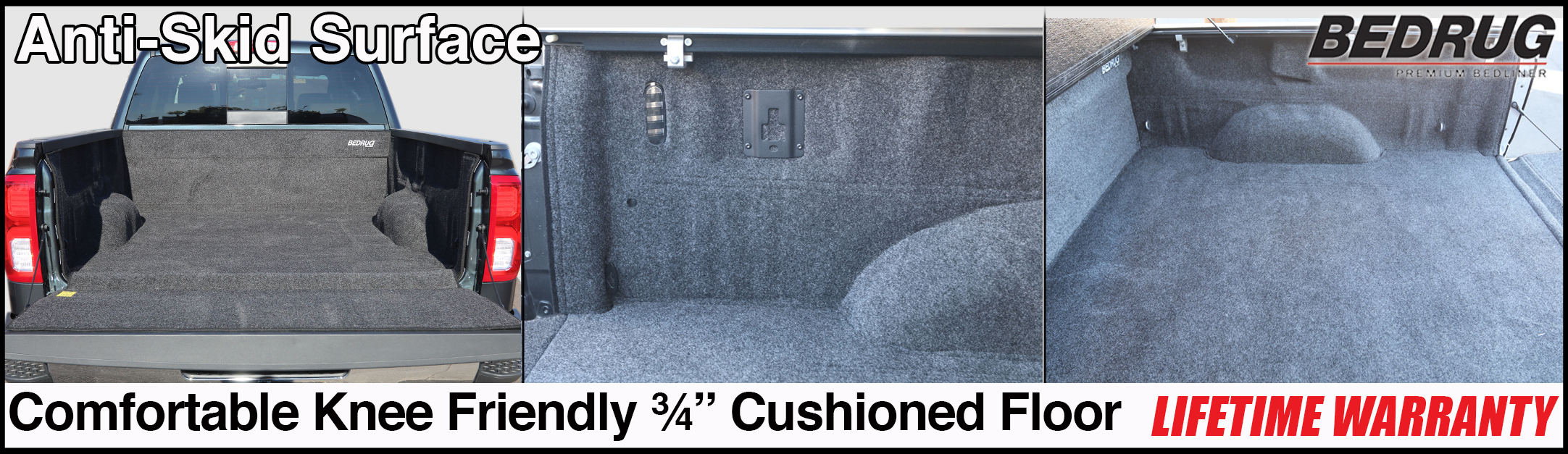 bedrug pickup truck bed liner