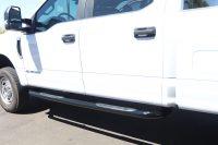 ford f-series 3 inch black nerf bars