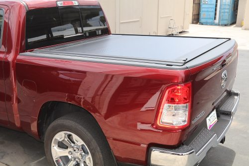2019 ram retractable truck bed cover by retrax