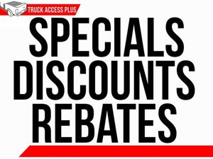 rebate specials