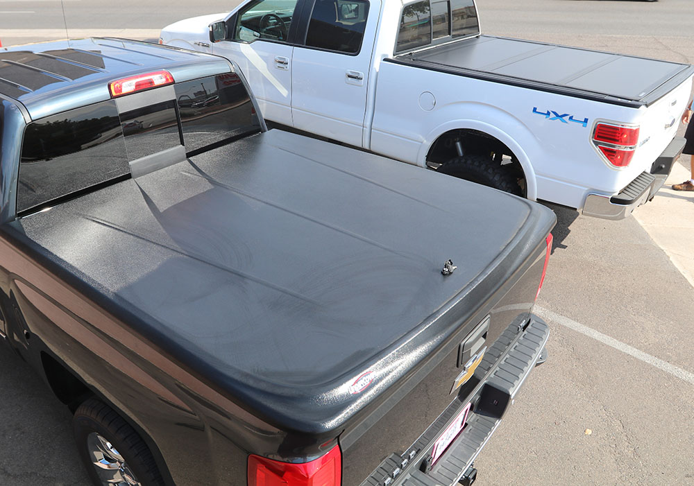 hard folding vs hinged tonneau covers