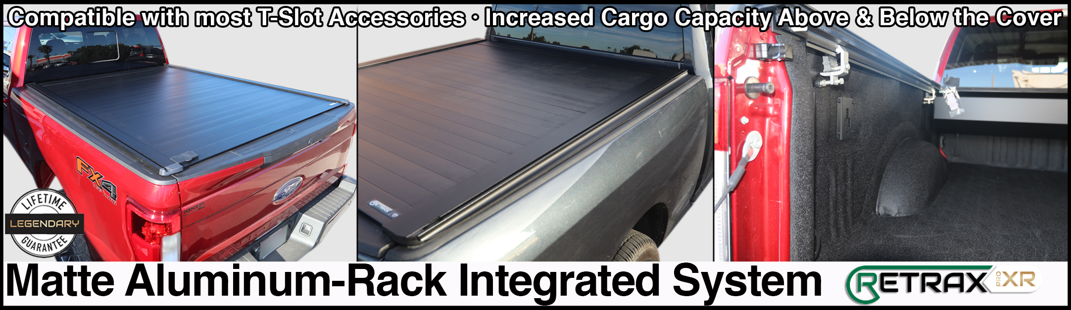 retraxpro xr retractable rack tonneau cover