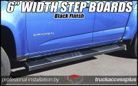 6 inch wide step boards for trucks