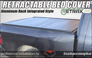 retraxpro xr retractable rack tonneau cover