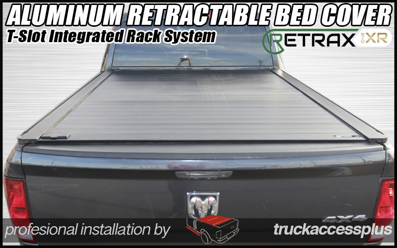retraxpro xr retractable rack truck bed cover