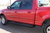1997-2003 Ford F150 Crew Cab Black 3 Inch Nerf Bars